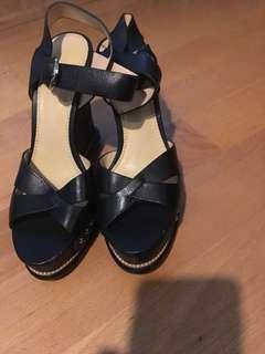 全新真皮高跟涼鞋 New genuine leather pumps