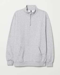 H&M Divided Standing Collar Sweater