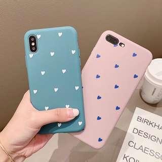 🚚 Preorder- Korean Hearts Phone Casing