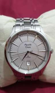 Alexandre Chistie Silver Stainless Original