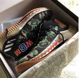 2c14cbbbbcda23 Bape X Dame 4 Adidas