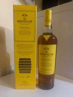 Macallan Edition No3 750ml