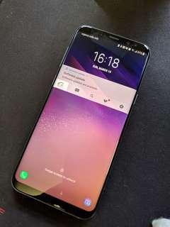 Samsung S8+ plus 128gb with UAG case
