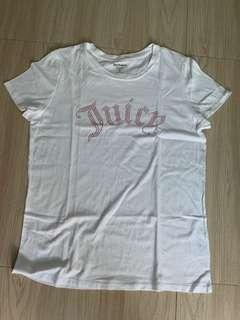 🚚 juice couture white shirt