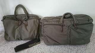 Project Shop - Duffel & Laptop Briefcase