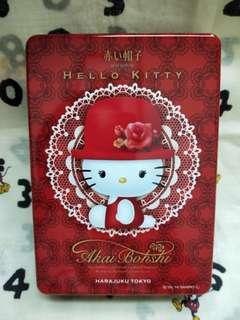 高帽子Hello Kitty鐵盒