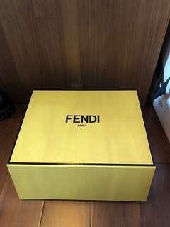 "Fendi magnet box (for handbag, W 10"" L 13"" H 5"")"