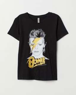 H&M Divided David Bowie Tee