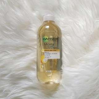 GARNIER OIL-INFUSED MICELLAR WATER 400ml #sociollacarousell