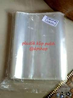 Plastik Klip PP Uk. 25x35 - Tebal 80 micron - berat 500gr
