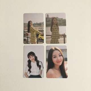 [wts] loona photocards