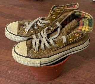 二手正品 converse 高筒 鞋 購於日本
