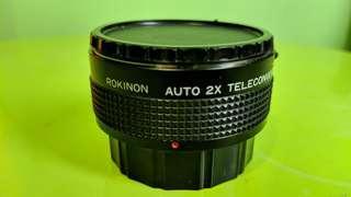 相機鏡頭 ROKINON AUTO 2X TELECONVERTER (PK)