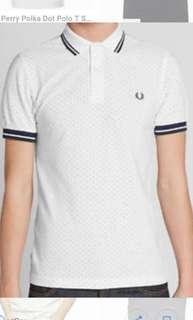 Fred Perry Printed Polka Dot Polo Shirt