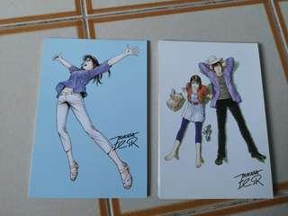 🚚 City hunter Post card. Design x and z
