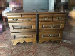 Pair of Bedside table
