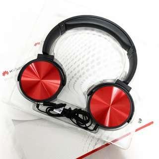 HUAWEI華為 線控頭戴耳機Wired Headphone耳罩耳機 覆耳式 耳罩式/HW-607