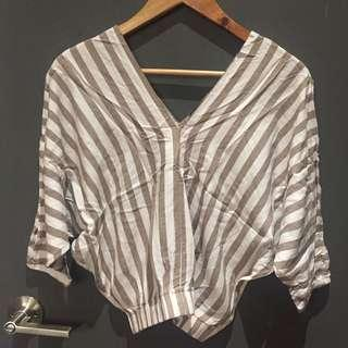 Shapes and Styles Stripes Blouse