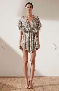 Shona Joy Marea Ruffle Mini Dress