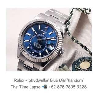Rolex - Skydweller Blue Dial Stainless Steel 'Random'