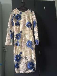 Bodycon floral dress #3x100