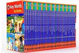 Key Words 36books (Peter and Jane)