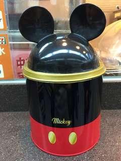 Disney Micky Mouse 米奇老鼠 鐵罐