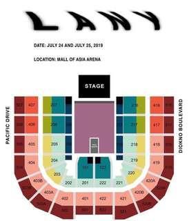 LANY Malibu Nights Manila Concert SALE OR SWAP