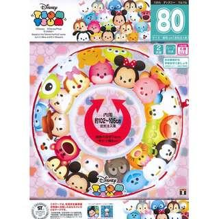 Disney Tsum Tsum Large Inflatable 80cm Swimming Ring Float