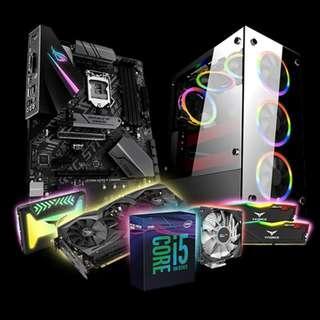 🚚 1stPlayer Fire Dancing V6 (Intel Core i5-9600K / 2x8GB 3000MHZ / RTX 2070 / 250GB SSD)