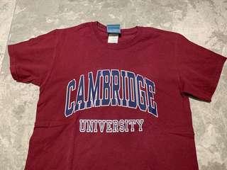 🚚 (OFFICIAL) CAMBRIDGE UNIVERSITY T SHIRT