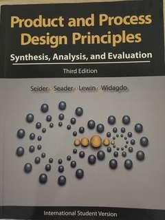 Product & Process Design Principles 3rd edition