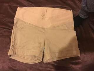 🚚 孕婦裝 卡其短褲