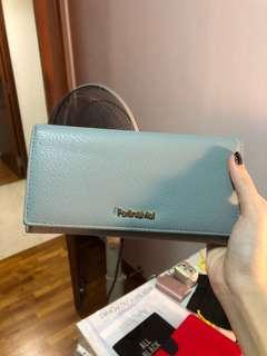🚚 Light blue perllini Long wallet