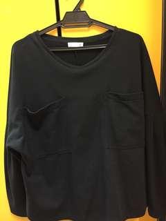 Black Top Two Pocket