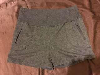 🚚 孕婦裝 棉質短褲 可調腰部鬆緊帶