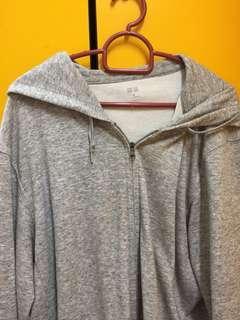 Uniqlo Grey Hoodie Sweater