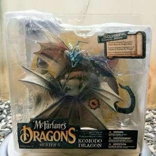 Action figure McFarlanes Dragons Komodo dragon