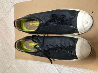 🚚 Converse leather black