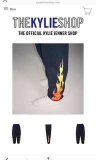 Kylie Jenner Flame Pants