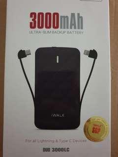 iWalk Powerbank 3000mah
