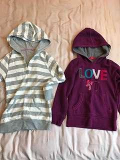 🚚 Espirt and Uniqlo Girl's Hoodie Jacket