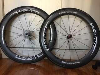 Vision 55 wheels