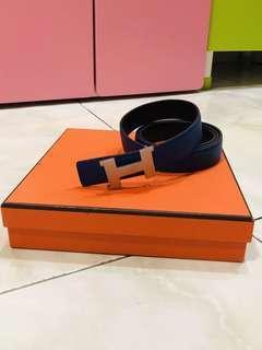 🚚 Hermes Ladies Belt Authentic - lightly used
