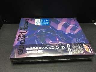 日本動畫 機動戰士 Gundam Unicorn Vol6 全新原裝日本限定版Blu-ray