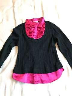 🚚 Black and pink TOP from Jenny & Me Canada