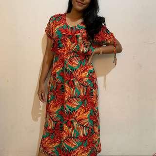 tropical dress bali