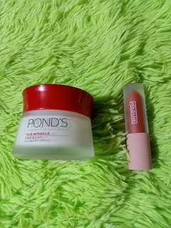Ponds age miracle firm & lift+holdlive lipstic