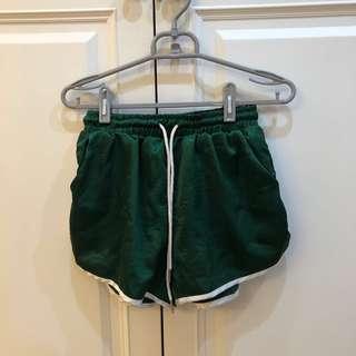 🚚 緞面運動短褲