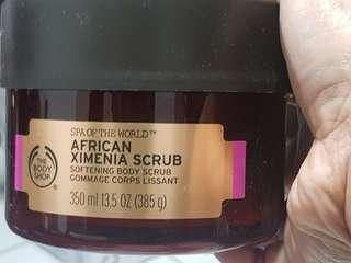 非洲Spa 身體磨砂膏